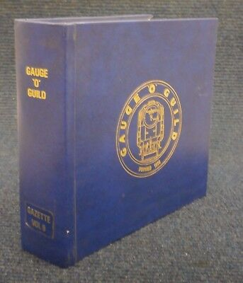 Gauge O Guild Gazette Magazine Complete Volume 9 Issues 1 to 12 Model Railway
