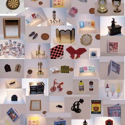 Dolls House Accessories CLEARANCE - Many items to clear