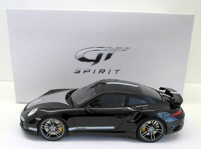 GT Spirit 1/18 Scale Resin - ZM025 Porsche 911 991 Techart Black