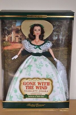 2001 Collector Edition SCARLETT O'HARA Barbecue at Twelve Oaks BARBIE