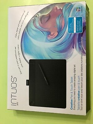 Tavoletta grafica wacom Intuos art, medium size. Come nuova. accessori inclusi.