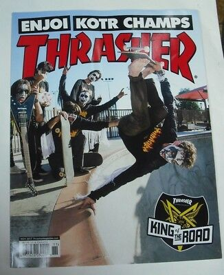 THRASHER Magazine Issue 448. Nov 2017. Skateboarding