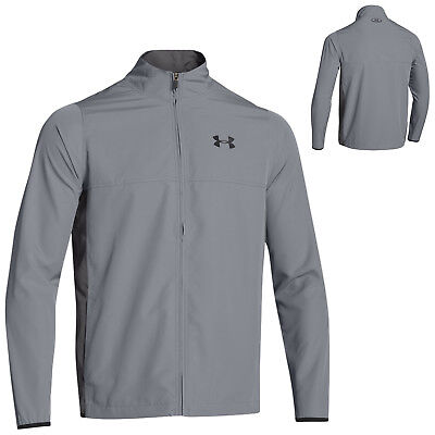 Under Armour Mens Vital Warm Up Jacket Sports Training Full Zip Top Lightweight