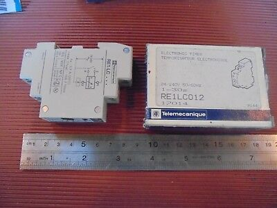 Telemecanique Electronic Timer RE1LC012