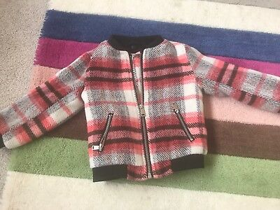 Girls Coat 12-18 Months River Island