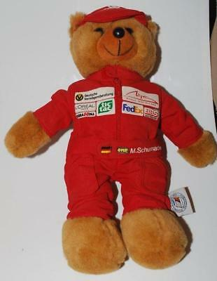 Michael Schumacher Collection - Racing Teddy Bear In Overalls