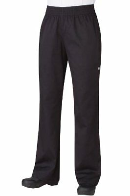 Chef Works Pw005 Womens Basic Baggy Pants, X-Small US SELLER New