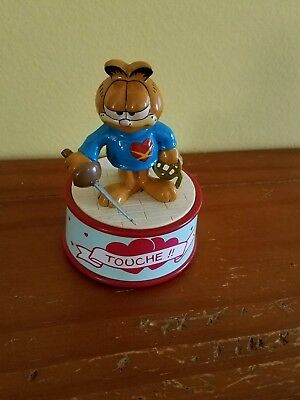 garfield small music box