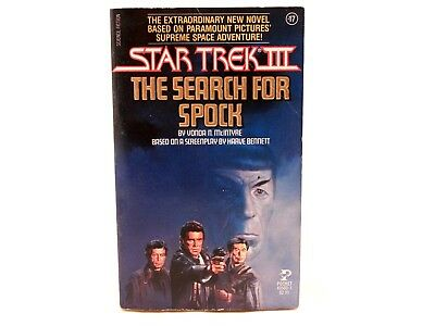GOOD! Star Trek III The Search for Spock Vonda N. McIntyre 1984 1st Print