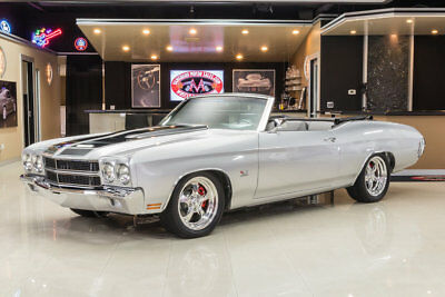 1970 Chevrolet Chevelle Convertible Restomod Frame Off, Rotisserie Restored! GM 502ci/502hp Crate Engine, TH400, PS, PB, Disc