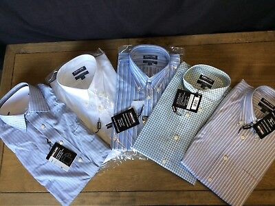 Kirkland Signature MENS Tradition Fit BUTTON DOWN No Iron DRESS SHIRT - 5 styles