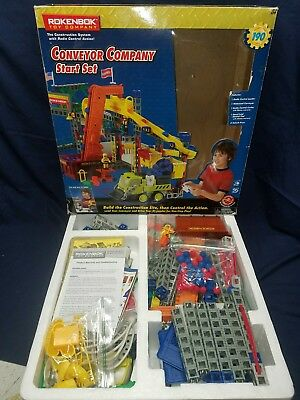 RokenBok Conveyor Company Start Set No.04121 Construction System W/Radio Control