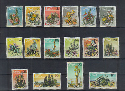 South West Africa 1973-79 Succulents set unmounted mint