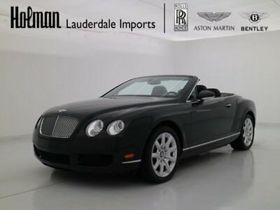 2009 Bentley Continental GT  2009 09 BENTLEY GTC W12 CONVERTIBLE * ONLY 8K MILES * LOADED * SERVICED *AMAZING