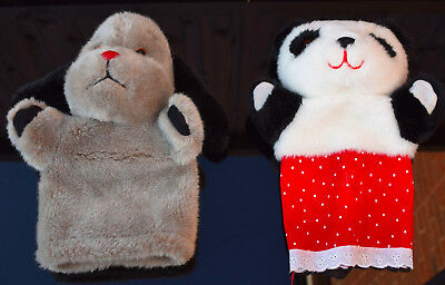 Sweep & Sue Vintage Hand Puppets. No Sooty
