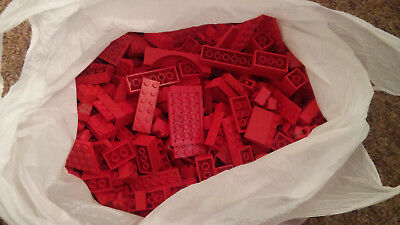 200G Red Lego Pieces