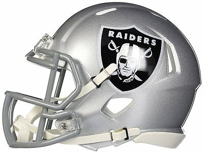 NFL Speed Mini Helmet - Oakland Raiders
