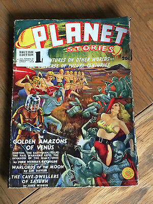 Planet Stories - US pulp SF - FIRST ISSUE - November 1939