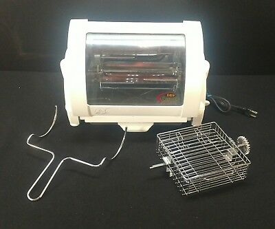 George Foreman Baby George GR59A Rotisserie Oven Counter top Cooker