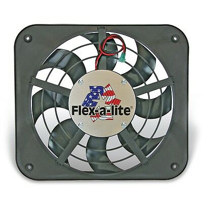 Flex-a-lite 111 Lo-Profile S-Blade Electric Fan Lo-Profile S-Blade Electric