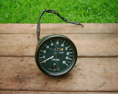 Yamaha Rd200 - Rd125 Speedometer Assembly. 21,394 Miles