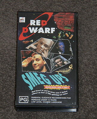 Red Dwarf VHS - Smeg Ups - Outtakes/Bloopers video