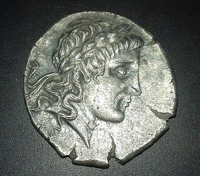 Rare Greek Tetradrachm of nealy 300BC Authentic Ancient Coin Valuable