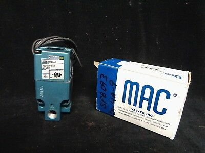 MAC * PNEUMATIC SOLENOID VALVE * 225B-111BAAA, 225-111BA, 491590 * NEW in BOX
