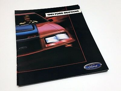 1983 Ford Mustang Brochure