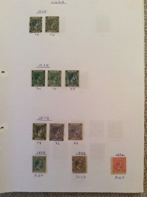 Collection Of Older 105 Stamps