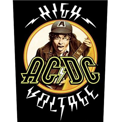 AC/DC high voltage  Back Patch XLG free worldwide shipping