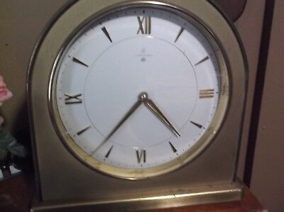 Vintage Brass Junghans Ato Clock