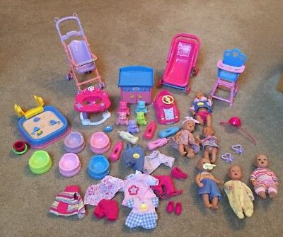 Massive Mini Baby Playset including Baby Born