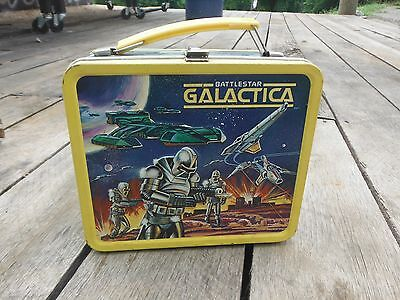 1978 Vintage Battlestar Galactica Lunchbox With Thermos-By Alladin