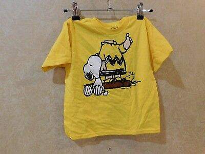 SNOOPY Charlie Brown  SHIRT Child's Sz 4T____________ R14B2