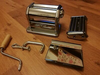 Imperia DAL1932 Stainless Steel Quality Pasta Making Machine Boxed made in Italy