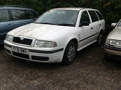 Skoda Octavia Estate 1.9 Sdi Runs And Drives Spares Or Repair