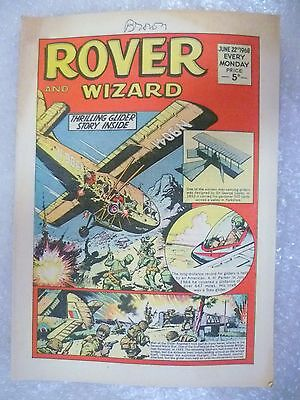 Comic- Rover and Wizard 22 June 1968