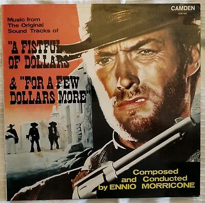 Ennio Morricone - A Fistful Of Dollars OST - Vinyl LP CDS 1052