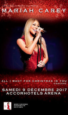 Mariah Carey Concert Carre Or Face Scene - All I Want For Christmas Is You Tour
