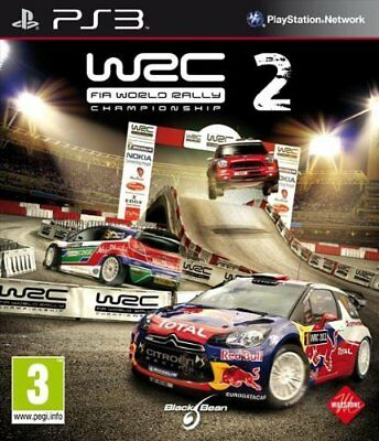 Wrc Fia World Rally Championship 2 Ps3 Físico Español Castellano
