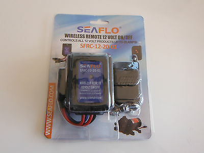 12 volts on / off remote control for seaflo topsflo shurflo flojet water pump