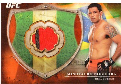 2014 Topps UFC Bloodlines Fighter Relics Red #BFRMN Minotauro Nogueira