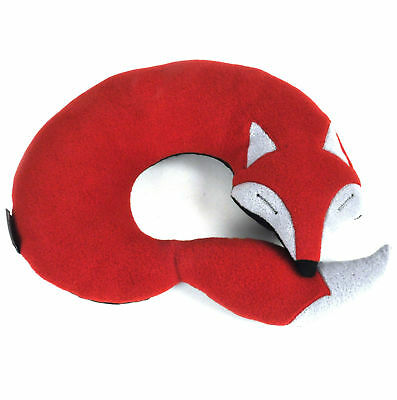 Peter the Fox - Red Large Neck Pillow
