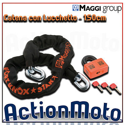 Chain with Padlock MAGGI FORT KNOX STAR ACTIVE 150cm ant-itheft system