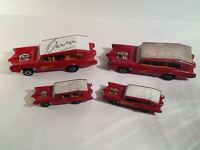 MonkeeMobile Collection of Four Cars