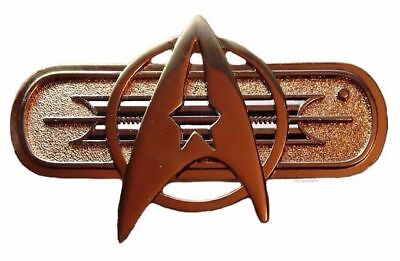 """Star Trek Movie Federation Uniform Chest Insignia Deluxe 3"""" Pin By Hollywood Pin"""