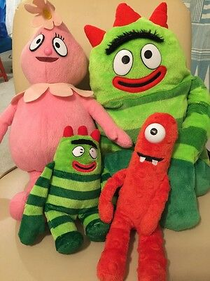 Yo Gabba Gabba Plush Lot