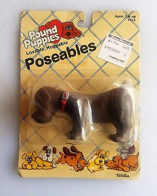 Pound Puppies ~ Tonka Poseable Figure~1985~Vintage~ New in Package