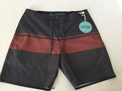 """c88bec29a7 NEW RIP CURL Rapture Layday Boardshorts Size 34 Mid Leg 19"""" - $34.99 ..."""